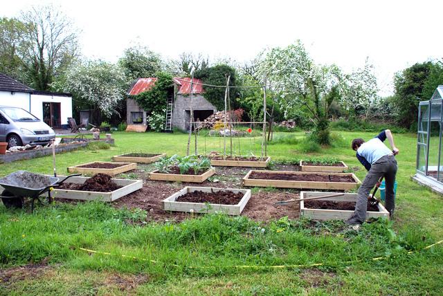 compost utilisations au jardin au potager et pour les. Black Bedroom Furniture Sets. Home Design Ideas