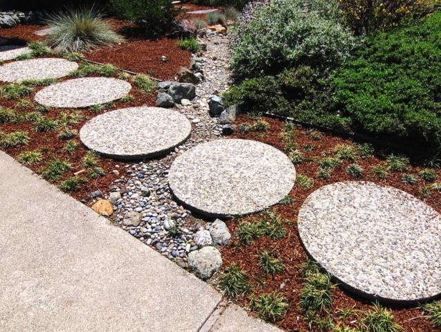 ... jardin contemporain jeux de formes créer un jardin contemporain outre