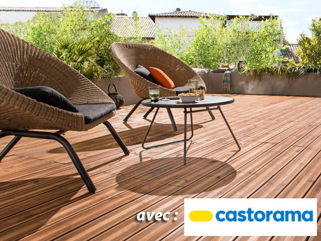 bois et composite des mat riaux astucieux pour sa terrasse. Black Bedroom Furniture Sets. Home Design Ideas