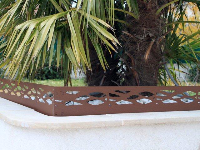 Bordures de jardin d coratives en acier une innovation - Bordure allee de jardin ...