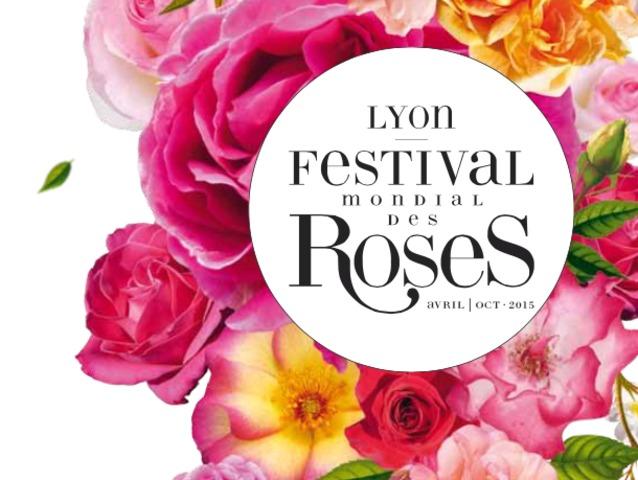 Festival mondial de la rose - Lyon, avril à octobre 2015