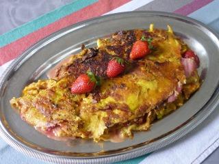 Omelette aux fraises / I.G.