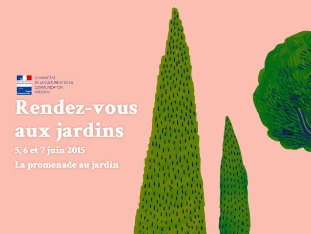 Rendez vous aux jardins du 5 au 7 juin 2015 for Jardin lune juin 2015