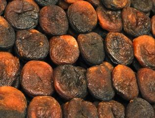 Abricots séchés non traités aux sulfites