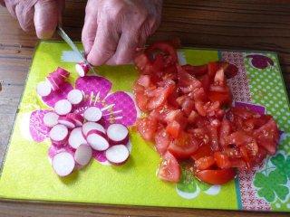 Découpe des légumes / I.G.