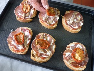 Ajout tomates séchées / I.G.