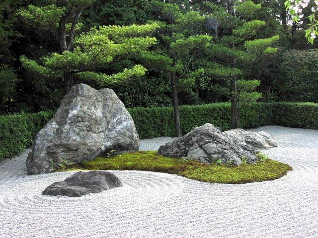 Cr er un jardin zen conseils et entretien - Jardin moderne zen villeurbanne ...