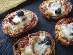 Toasts à l'italienne