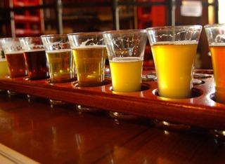 Différentes bières