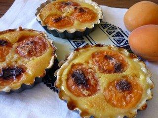 Tartelettes à l'abricot / I.G.