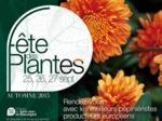 Fête des Plantes d'Automne à Saint-Jean de Beauregard, 25 au 27 septembre