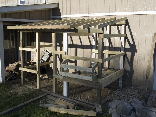 installation d 39 un poulailler achet ou construction les. Black Bedroom Furniture Sets. Home Design Ideas