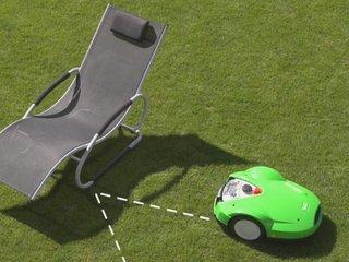 Robot tondeuse : contournement d'obstacles