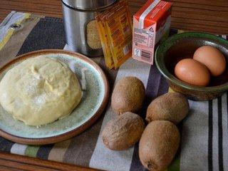 Ingrédients pour la tarte aux kiwis / I.G.