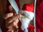 Sujet de Noël en maïs