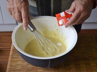 Incorporation de la crème fraîche / I.G.