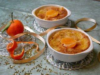 Mandarines gratinées