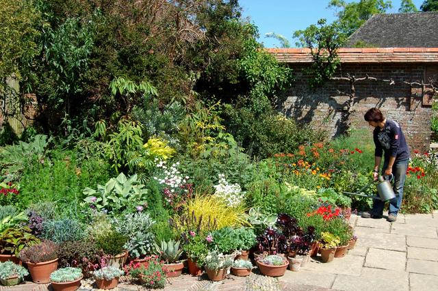 jardin en pot arrosage jardins de pots. Black Bedroom Furniture Sets. Home Design Ideas