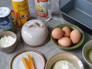 Ingrédients pour le gâteau à l'orange / I.G.