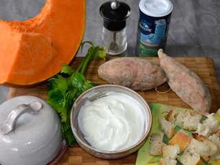 Ingrédients pour la soupe / I.G.