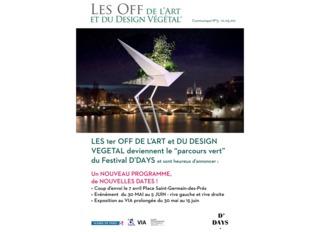 1ers Off de l'Art et du Design Végétal, mai 2016