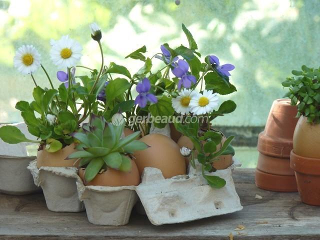 Emejing deco jardin avec recuperation ideas design for Decoration jardin paques