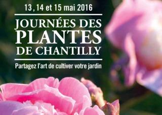 Journées des Plantes de Chantilly, 13, 14 et 15 mai 2016