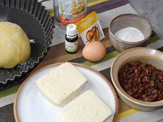 Ingrédients pour la tarte / I.G.