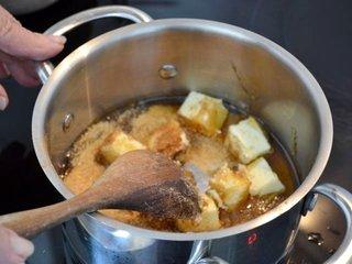 Cuisson beurre, sucre et miel / I.G.