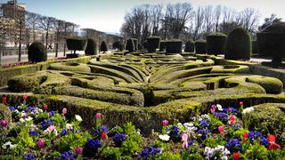 Jardin de l'Evêché à Castres / DR