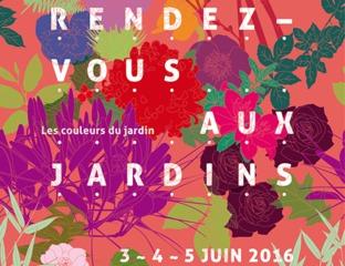Rendez-vous aux jardins 2016 / © duofluo design graphique