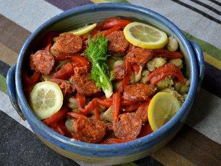Salade de fèves séchées / I.G.