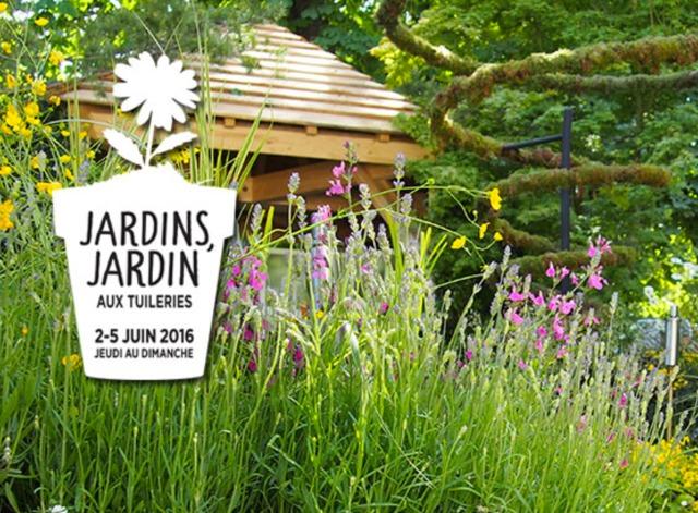 Jardins jardin aux tuileries du 2 au 5 juin 2016 for Jardin aux tuileries