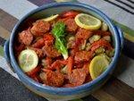 Salade de fèves séchées