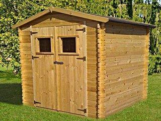 Abri de jardin m tal bois ou pvc d couvrez le choix trigano for Abri de jardin en bois sans entretien
