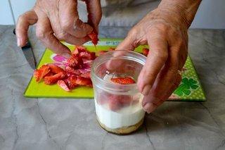 Ajout des fraises / I.G.