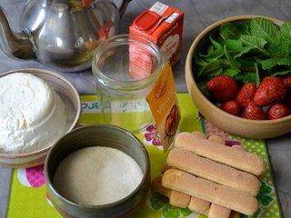 Ingrédients coupes fraises / I.G.