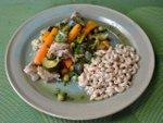 Sauté de veau aux légumes nouveaux