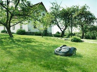 Robot tondeuse : pelouse en pente