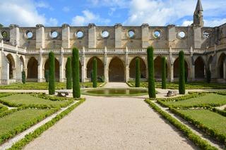 Abbaye de Royaumont : cloître / Clémentine Desfemmes