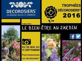 Concours Décorosiers 2016 - affiche / D.R.