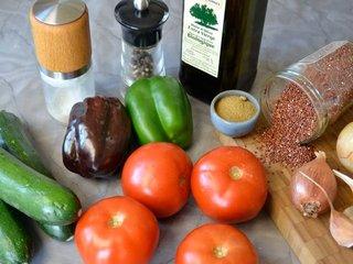 Légumes farcis quinoa / I.G.