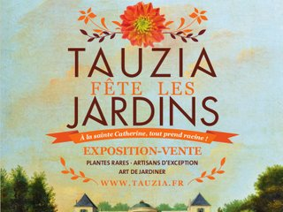 Tauzia fête les jardins - affiche