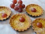 Tartelettes au jus de raisin