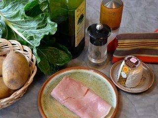 Ingrédients pour pommes de terres farcies / I.G.
