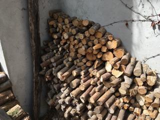 Séchage du bois à l'abri