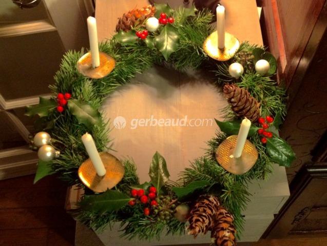 Couronne de l'Avent (Magie de Noël)