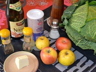 Chou à la normande : ingrédients / I.G.