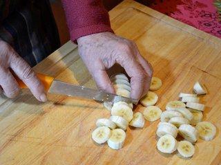 Découpe des bananes / I.G.