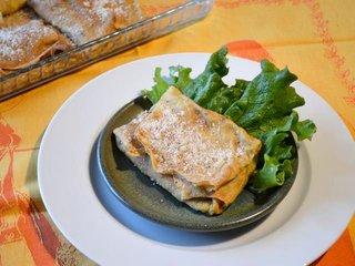 Crêpes à la crème de poireaux / I.G.